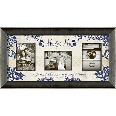 Carpentree Mr. & Mrs. Photo Collage Picture Frame