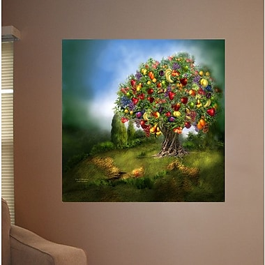Wallhogs Cavalaris Tree of Abundance Poster Wall Mural; 48'' H x 48'' W