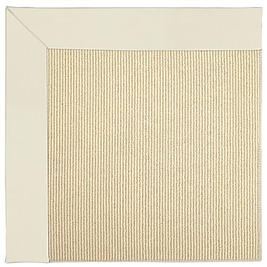 Capel Zoe Machine Tufted Alabaster Indoor/Outdoor Area Rug; Rectangle 7' x 9'