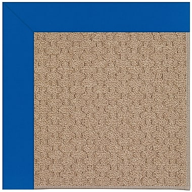 Capel Zoe Grassy Mountain Machine Tufted Reef Blue/Brown Indoor/Outdoor Area Rug; Rectangle 4' x 6'
