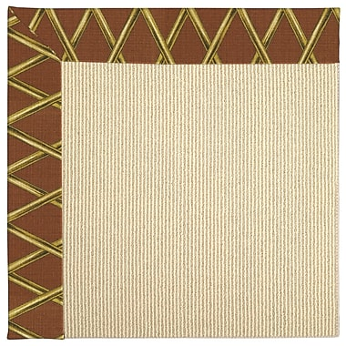 Capel Zoe Machine Tufted Cinnabar Honey/Beige Indoor/Outdoor Area Rug; Rectangle 8' x 10'