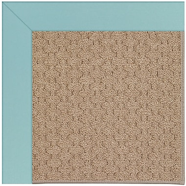 Capel Zoe Grassy Mountain Machine Tufted Seafaring Blue/Brown Indoor/Outdoor Area Rug