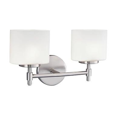 Norwell Lighting Moderne 2-Light Wall Sconce