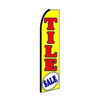 NeoPlex Tile Sale Swooper Flag