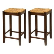 Luxury Home Rush 23.5'' Bar Stool (Set of 2)