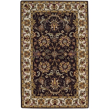 Capel Guilded Hand-Tufted Cocoa Area Rug; 10' x 14'