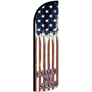 NeoPlex United We Stand USA Deluxe Swooper Flag