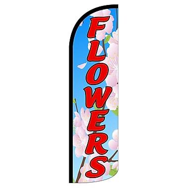 NeoPlex Flowers Deluxe Swooper Flag