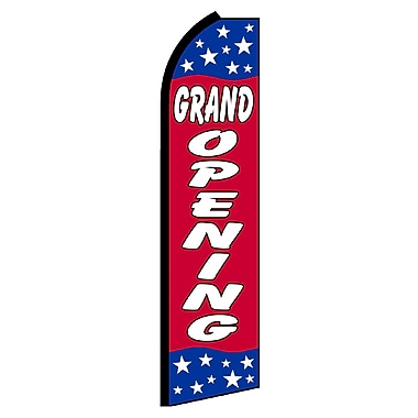 NeoPlex Grand Opening Stars Swooper Flag