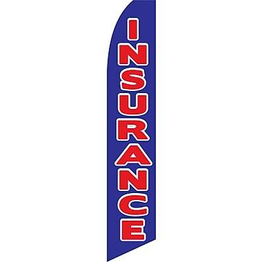 NeoPlex Insurance Swooper Flag; Blue