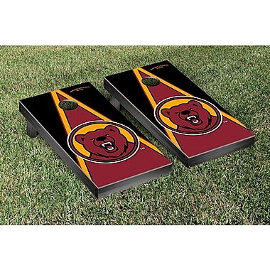 Victory Tailgate NCAA Triangle Version Cornhole Game Set; Ursinus College Bears