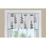 Contempo Curtains Floating Petals 50'' Window Valance