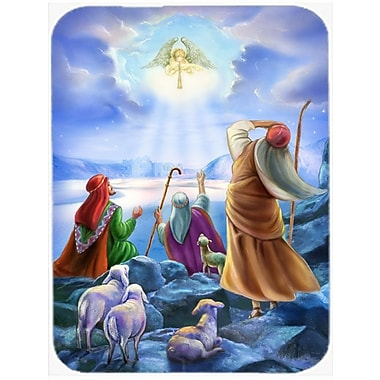 Caroline's Treasures The Shepherds and Angels Appeared Glass Cutting Board
