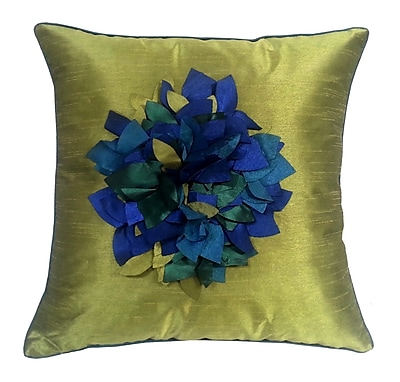 Edie Inc. Hydrangea Petal Throw Pillow