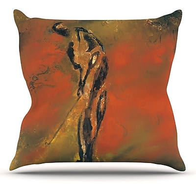 KESS InHouse Chip by Josh Serafin Throw Pillow; 26'' H x 26'' W