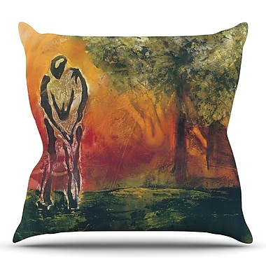 KESS InHouse No Reason to Hide by Josh Serafin Throw Pillow; 16'' H x 16'' W
