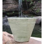 Griffith Creek Designs Nile Fiber Clay Pot Planter; 10.24'' H x 11.81'' W x 11.81'' D