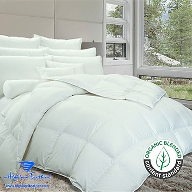 Highland Feather Brighton Down Comforter; King