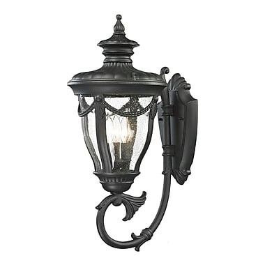 Radionic Hi Tech Anise 3 Light Outdoor Sconce