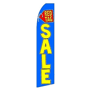 NeoPlex Red Tag Sale Swooper Flag