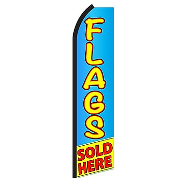 NeoPlex Flags Sold Here Swooper Flag