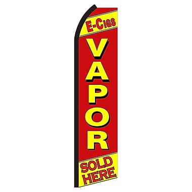 NeoPlex E-Cigs Vapor Sold Here Swooper Flag