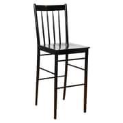 Benkel Seating Bar Stool; Black