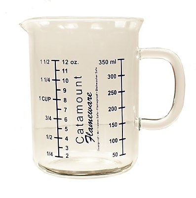 Catamount Glass 1.5 Cup Glass Measuring Cup WYF078278938459