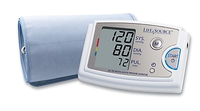 Lifesource Blood Pressure Monitor, Extra Large Arms, (UA-789AC)