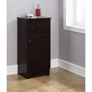 RunFine Group 15.75'' W x 32'' H Cabinet; Espresso