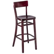 Benkel Seating 30'' Bar Stool; Mahogany
