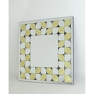 Wayborn Gold Leaf Beveled Mirror