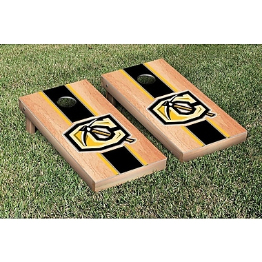 Victory Tailgate NCAA Hardcourt Striped Version Cornhole Game Set; Cameron Aggies