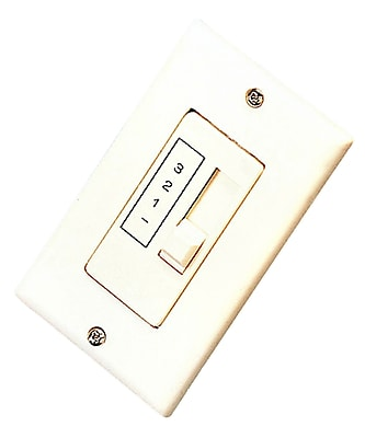 Royal Pacific Fan Wall Control in White