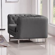 Diamond Sofa Catalina Tufted Tub Chair; Grey