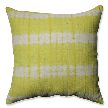 Pillow Perfect Mirage Cotton Throw Pillow; Apple - Green