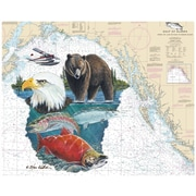 Magic Slice Alaska by Steve Whitlock Non-Slip Flexible Cutting Board
