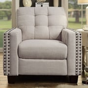 iNSTANT HOME Delicia Tufted Arm Chair; Classic Navy