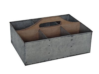 Cheungs Galvanized Storage Caddy