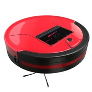 bObsweep PetHair Robotic Vacuum Cleaner and Mop; Rouge