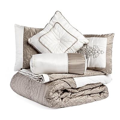 Harbormill 8 Piece Bed-In-a-Bag Set; Queen
