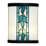 Dale Tiffany Green Leaves 1-Light Wall Sconce