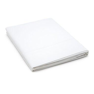 Linen Tablecloth Hotel Selection 800 Thread Count Flat Sheet; Queen
