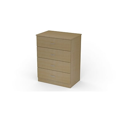 Medviron St. Clair Dresser, 4 Drawer Honey Maple, 32