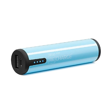 Techlink Recharge 2600 Range USB Charger, Blue (527038)