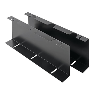 MMF POS (226-199UCBK10-04) Under Counter Mounting Brackets for Advantage Cash Drawers, Black