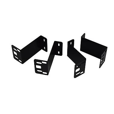 MMF – Supports de fixation sous le comptoir pour tiroirs-caisse VAL-u Line, noir, PDV (MMF-VLBRKT-04)