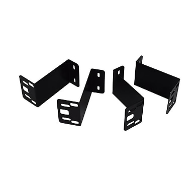 MMF POS (MMF-VLBRKT-04) Under Counter Mounting Brackets for VAL-u Line Cash Drawers, Black