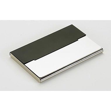 Elegance – Porte-cartes de visite, noir mat