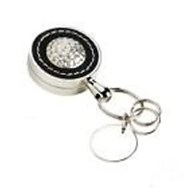Elegance Executive Style Leather Golf Key Fob with